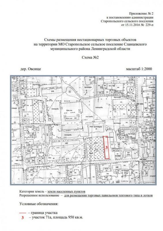 О порядке разработки и утверждения схемы нестационарных торговых объектов